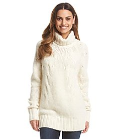 MICHAEL Michael Kors® Cable Turtleneck Sweater