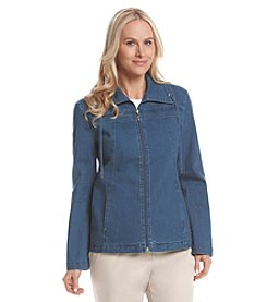 Studio Works® Petites' Denim Sport Jacket