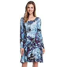 Karen Kane® Polar Floral Dress