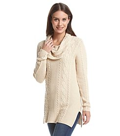 Jeanne Pierre® Cowl Neck Sweater