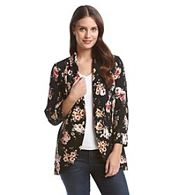 Black Rainn™ Floral Blazer