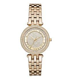 Michael Kors® Women's Goldtone Mini Darci Watch