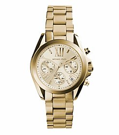 Michael Kors® Women's Goldtone Mini Bradshaw Watch