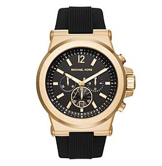 Michael Kors® Men's Goldtone and Black Dylan Watch