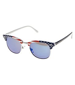 Relativity® American Flag Clubmaster Sunglasses