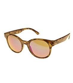 Relativity® Flash Lens Cat Eye Sunglasses