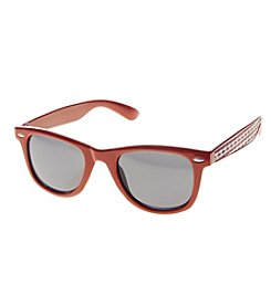 Relativity® Red Panel Flag Wayfarer Sunglasses