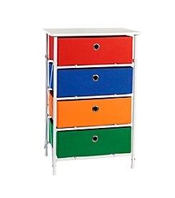 RiverRidge® Kids Sort & Store Boys 4-Bin Organizer