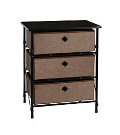 RiverRidge® Home Brown Sort & Store 3-Bin Organizer