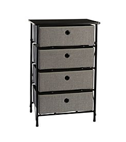 RiverRidge® Home Grey Sort & Store 4-Bin Organizer
