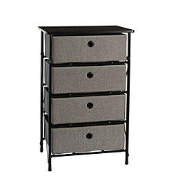 RiverRidge® Home Grey Sort & Store 4-Bin Organizer