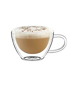 Luigi Bormioli Thermic Set of 2 13-oz. Cappuccino Glasses