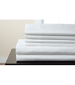 Elite Home Products Valencia Stripe 800-Thread Count 6-pc. Sheet Set