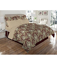 Elite Home Products Reversible Crystal Palace 8-pc. Comforter Set