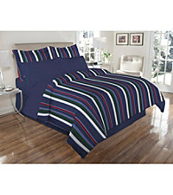 Elite Home Products Reversible Ithaca 8-pc. Comforter Set