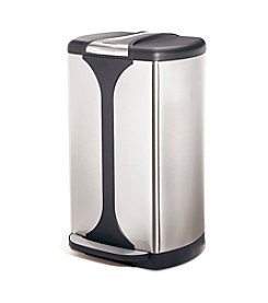 Cuisinart 38L Stainless Steel Oval Step Trash Can