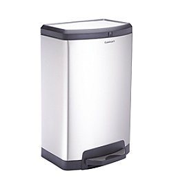 Cuisinart 40L Stainless Steel Half Round Step Trash Can