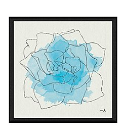 Greenleaf Art Watercolor Floral II Framed Canvas Wall Art