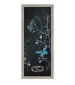 Greenleaf Art Midnight Garden Panel I Framed Canvas Wall Art