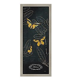 Greenleaf Art Midnight Garden Panel IV Framed Canvas Wall Art