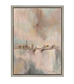 Greenleaf Art Paris Morning Mist I Framed Canvas Wall Art