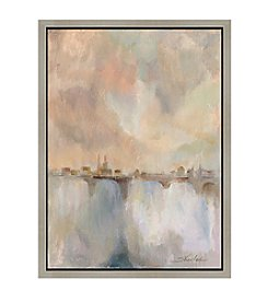 Greenleaf Art Paris Morning Mist II Framed Canvas Wall Art
