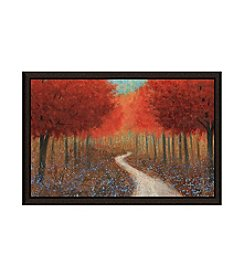 Greenleaf Art Forest Pathway Framed Canvas Wall Art