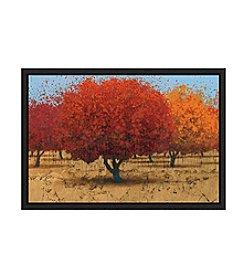 Greenleaf Art Orange Trees II Framed Canvas Wall Art