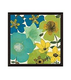 Greenleaf Art Garden Brights Cool III Framed Canvas Wall Art
