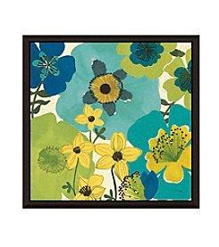 Greenleaf Art Garden Brights Cool IV Framed Canvas Wall Art