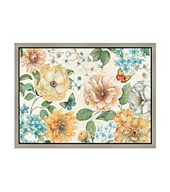 Greenleaf Art Bloossom Flowers Framed Canvas Art