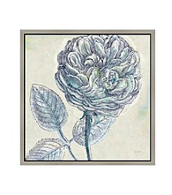 Greenleaf Art Belle Fleur III Framed Canvas Wall Art