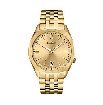 "Bulova Men's Accutron II Goldtone ""Surveyor"" Watch"