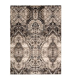Nourison Glistening Nights Light Grey Area Rug