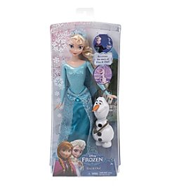 Mattel® Girls' Elsa & Olaf Doll