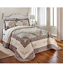 LivingQuarters Veronique Bedspread Collection