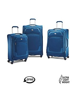 American Tourister® iLite Extreme Moroccan Blue Luggage Collection + $50 Gift Card by mail
