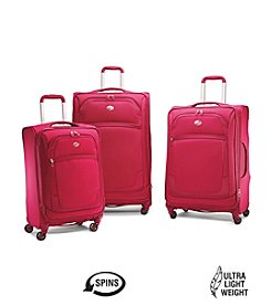 American Tourister® iLite Extreme Cerise Luggage Collection + $50 Gift Card by mail