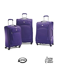 American Tourister® iLite Extreme Orient Blue Luggage Collection + $50 Gift Card by mail