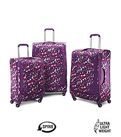 American Tourister® iLite Extreme Purple Check Luggage Collection