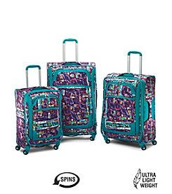 American Tourister® iLite Extreme Teal Abstract Luggage Collection