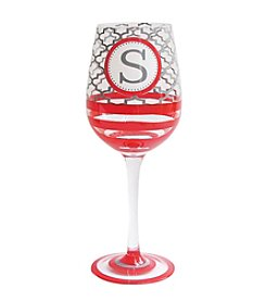 Crystal Clear® Monogram Goblet