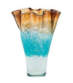 Lenox® Seaview Ombre Ruffle Vase