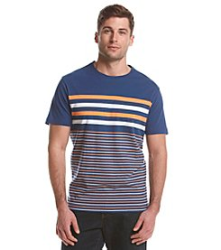 John Bartlett Consensus Men's Short Sleeve Engineered Stripe Tee