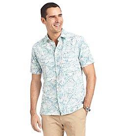 Van Heusen® Men's Short Sleeve Printed Button Down