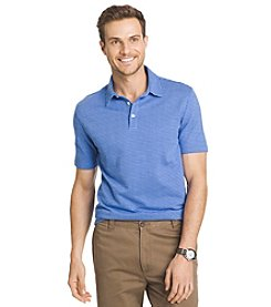 Van Heusen Men's Short Sleeve Traveler Blues Polo