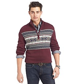 Izod® Men's Snowflake 1/4 Zip Sweater