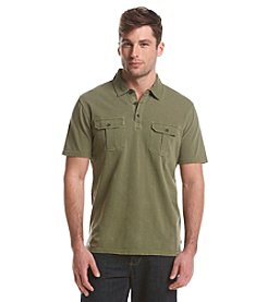 Ruff Hewn Men's Short Sleeve Military Polo