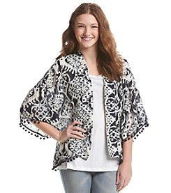 Hippie Laundry Printed Cardigan
