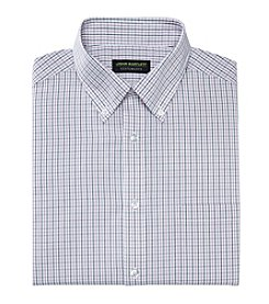 John Bartlett Statements Men's Grid Patterned Dress Shirt